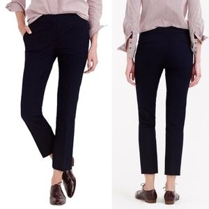 J. Crew Campbell Capri Pants in Stretch Cotton